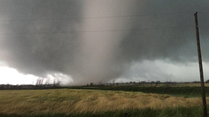 The three-hour tornado in Canada