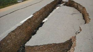 Subsidence in southern China