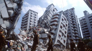Destruction of cities by earthquakes